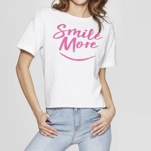 Modern Lux Smile More Graphic Tee